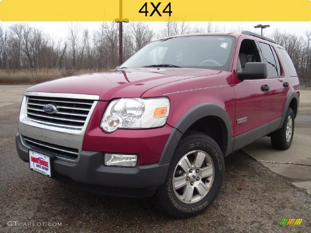 2006 Redfire Metallic Ford Explorer XLT 4x4 27771008 Car Co