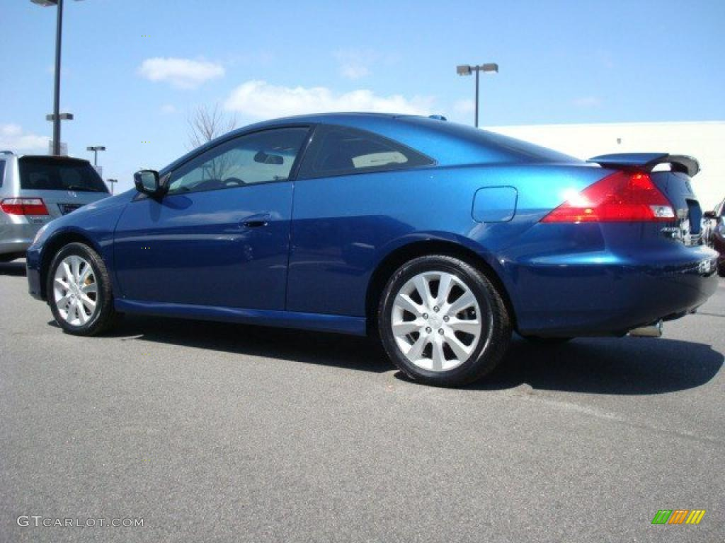 Sapphire Blue Pearl 2007 Honda Accord EX V6 Coupe Exterior Photo #27815041 | GTCarLot.com