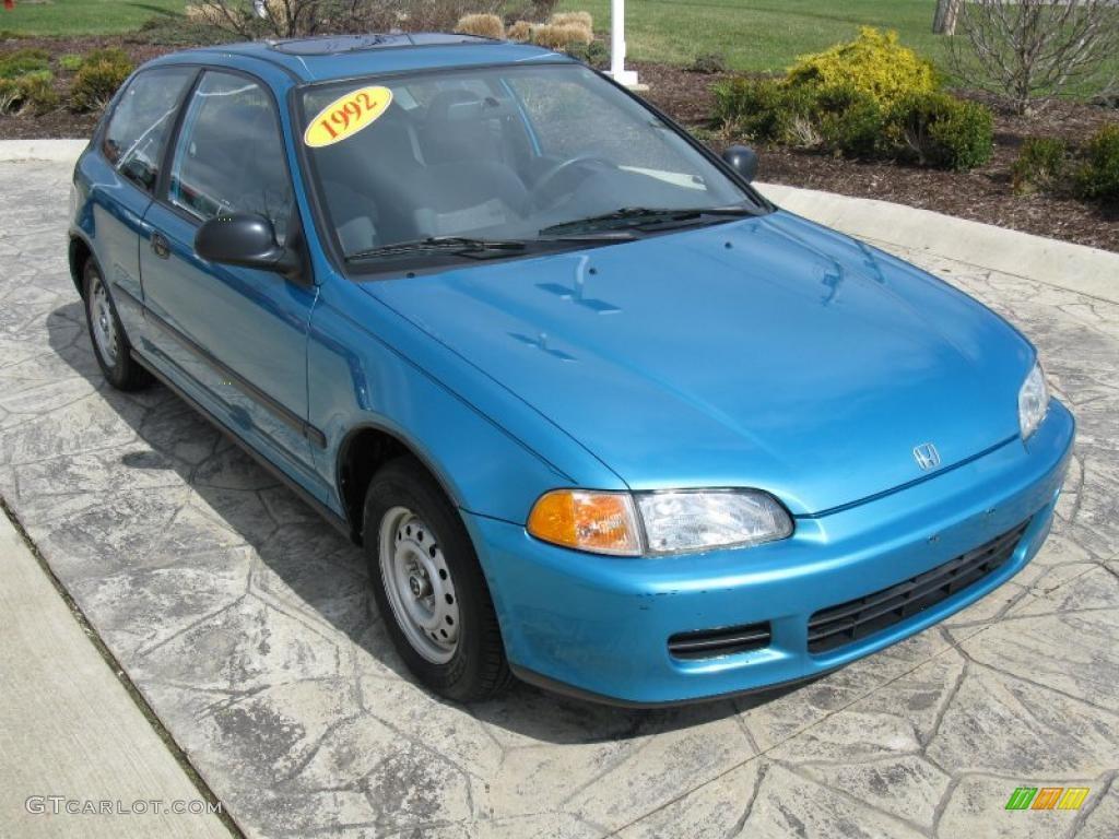 1995 honda civic hatchback dx