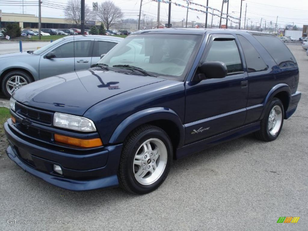 on 2002 Chevy S10 Blazer Xtreme