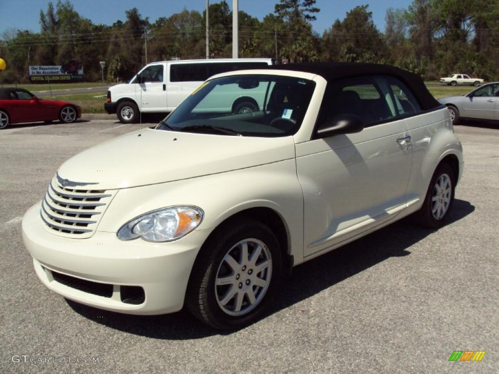 2007 Cool Vanilla White Chrysler Pt Cruiser Convertible 27805150