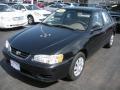 Black Sand Pearl 2002 Toyota Corolla LE