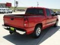 2006 Victory Red Chevrolet Silverado 1500 LS Crew Cab  photo #3