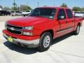 2006 Victory Red Chevrolet Silverado 1500 LS Crew Cab  photo #7