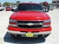 2006 Victory Red Chevrolet Silverado 1500 LS Crew Cab  photo #8