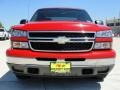 2006 Victory Red Chevrolet Silverado 1500 LS Crew Cab  photo #9