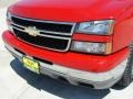 2006 Victory Red Chevrolet Silverado 1500 LS Crew Cab  photo #12