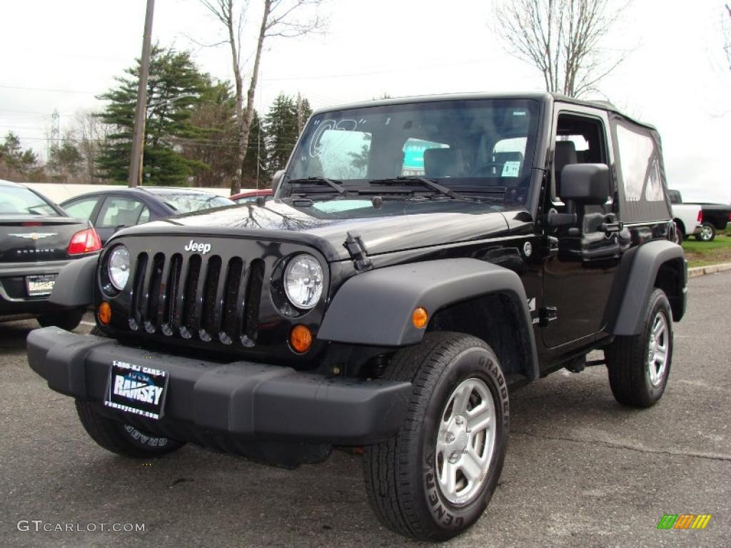 2007 Black Jeep Wrangler X 4x4 27850769 Car Color Galleries
