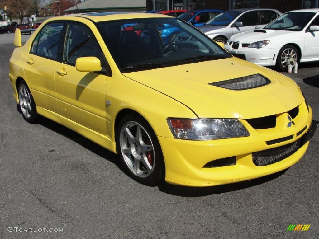 Mitsubishi Lancer Yellow Paint Code