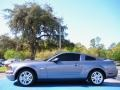 2007 Tungsten Grey Metallic Ford Mustang V6 Premium Coupe  photo #2