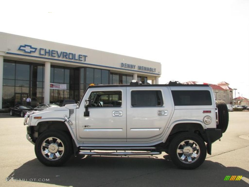 Limited edition silver ice hummer h2