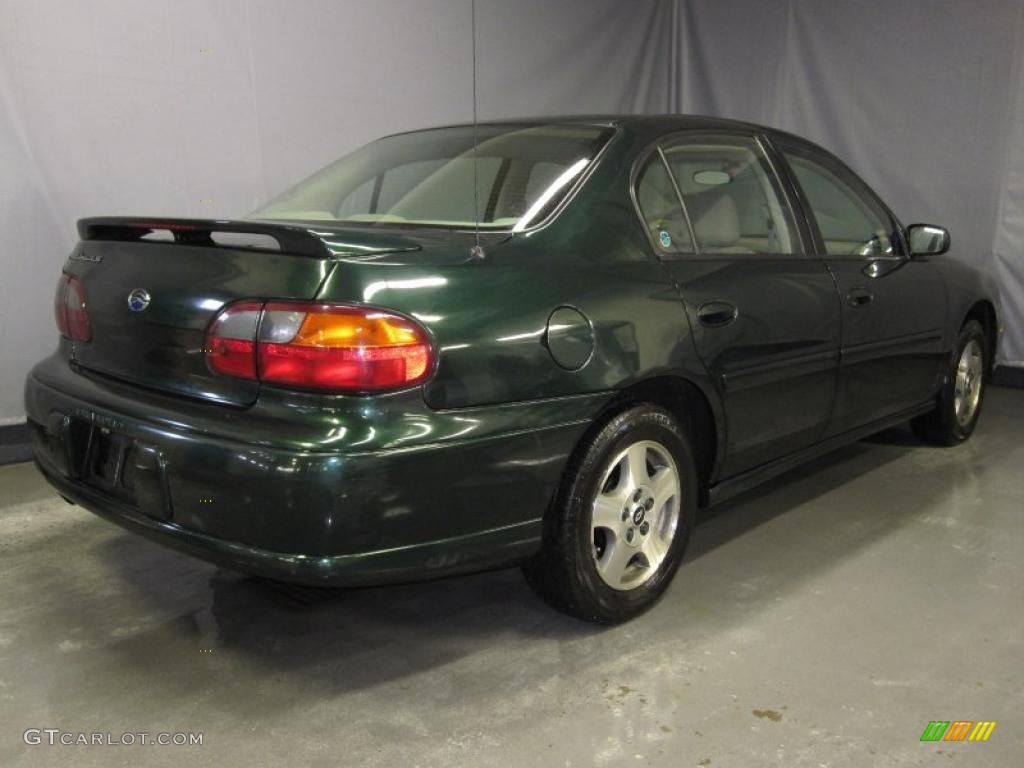 2003 Medium Forest Green Metallic Chevrolet Malibu Ls Sedan