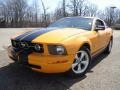 2007 Grabber Orange Ford Mustang V6 Premium Coupe  photo #1