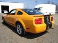 2007 Grabber Orange Ford Mustang V6 Premium Coupe  photo #3