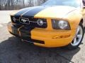 2007 Grabber Orange Ford Mustang V6 Premium Coupe  photo #9