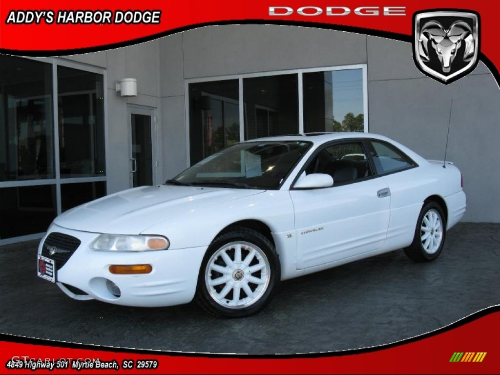 2000 bright white chrysler sebring lxi coupe 27850345. Black Bedroom Furniture Sets. Home Design Ideas