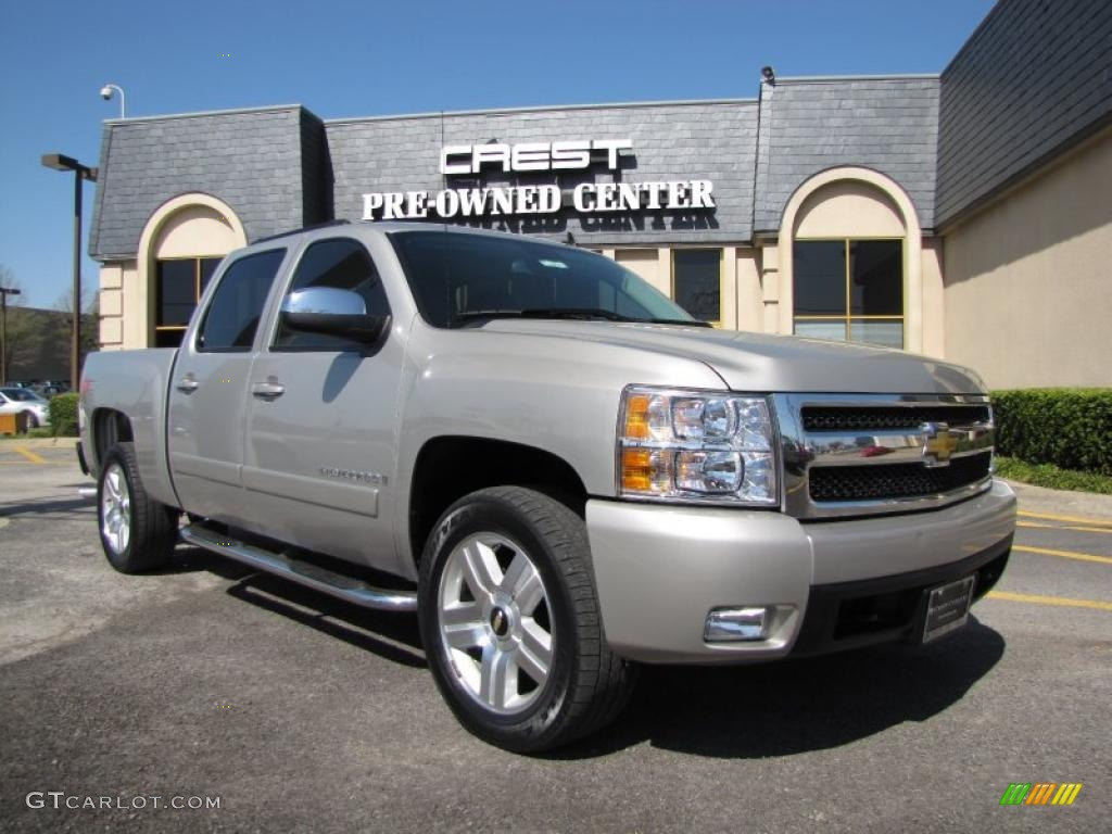 2007 silver birch metallic chevrolet silverado 1500 ltz. Black Bedroom Furniture Sets. Home Design Ideas