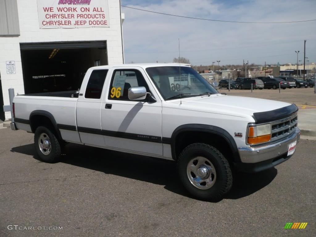 on 1996 Dodge Dakota Blue
