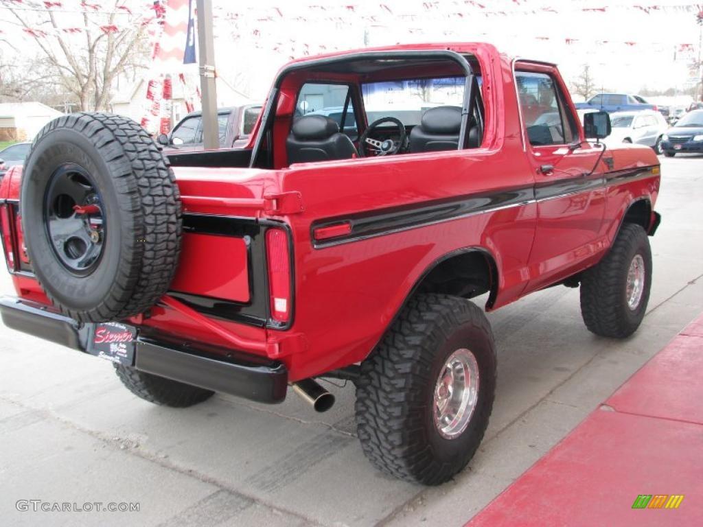 White Ford Bronco Shows1990 Xlt 4x4 52724347 1969 Ranger 1978 Red 27850689 Photo 4