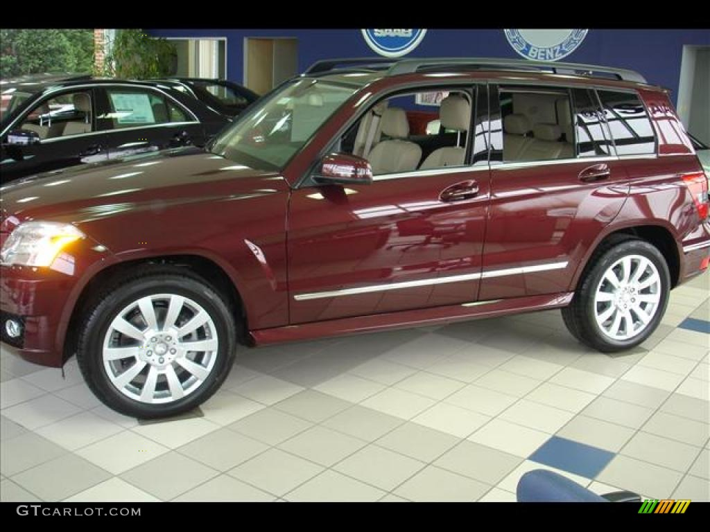 2010 Barolo Red Metallic Mercedes Benz Glk 350 4matic