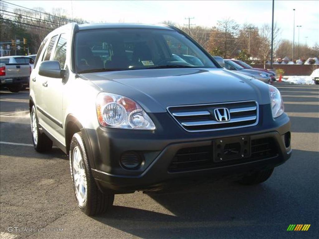 2006 Silver Moss Metallic Honda Cr V Ex 4wd 27851230
