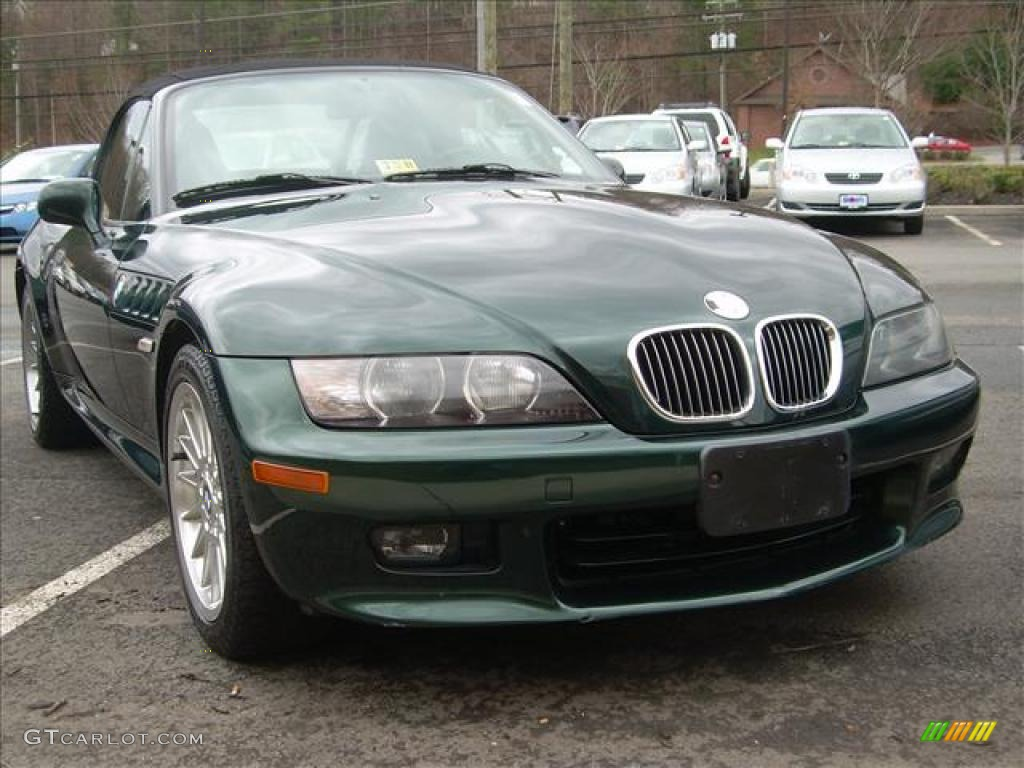 2001 Oxford Green Metallic Bmw Z3 3 0i Roadster 27851239