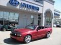 2007 Redfire Metallic Ford Mustang GT Premium Convertible  photo #1
