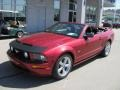 2007 Redfire Metallic Ford Mustang GT Premium Convertible  photo #2
