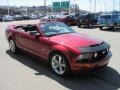 2007 Redfire Metallic Ford Mustang GT Premium Convertible  photo #5