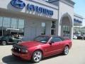 2007 Redfire Metallic Ford Mustang GT Premium Convertible  photo #6