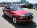 2007 Redfire Metallic Ford Mustang GT Premium Convertible  photo #10