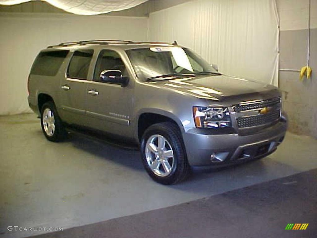 2007 graystone metallic chevrolet suburban 1500 ltz 4x4. Black Bedroom Furniture Sets. Home Design Ideas