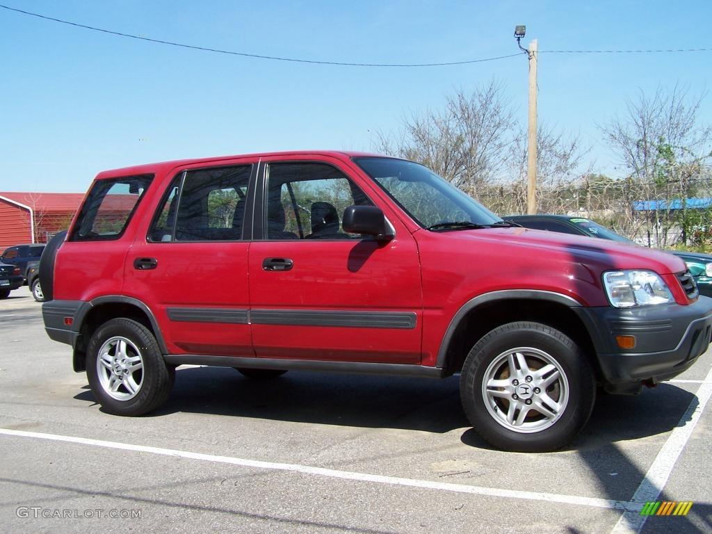 1997 San Marino Red Honda Cr V Lx 4wd 27919895 Photo 2 Car Color Galleries