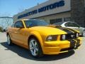 2007 Grabber Orange Ford Mustang GT Premium Coupe  photo #1