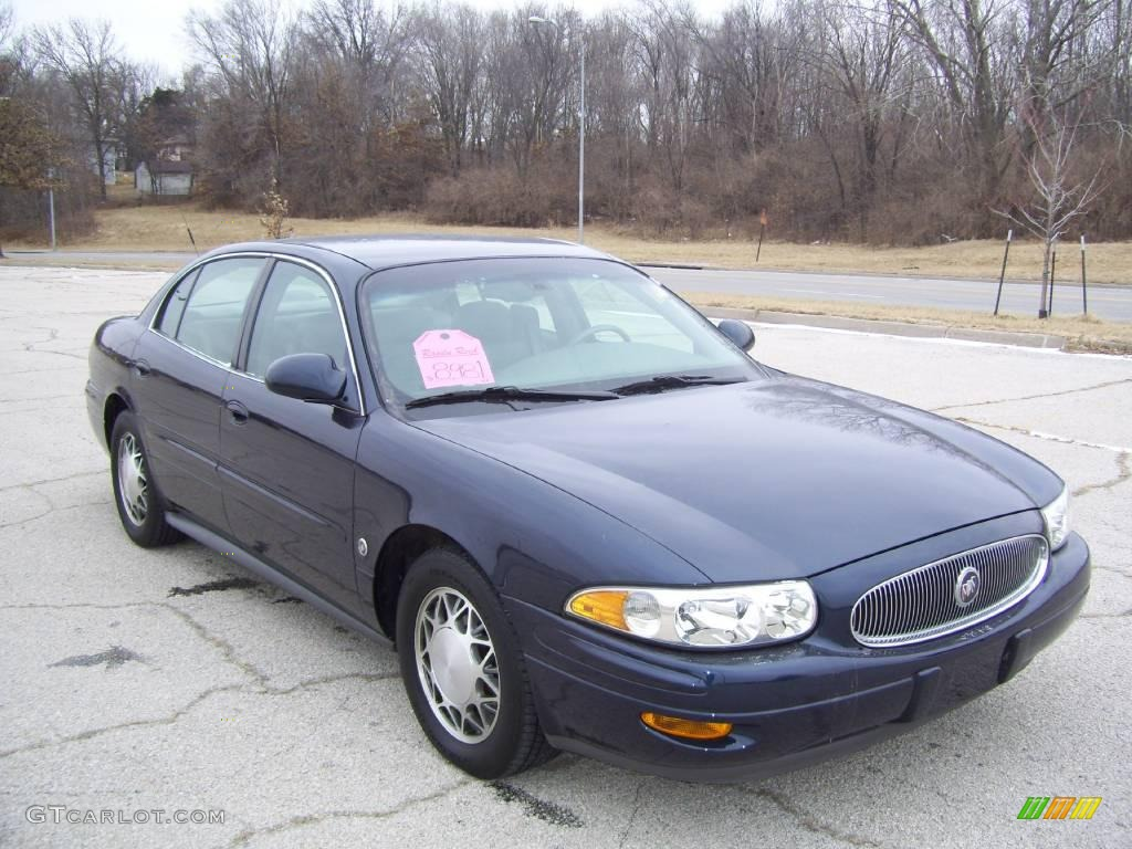 2003 lesabre limited ming blue metallic medium gray photo 2