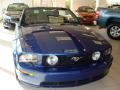 2007 Vista Blue Metallic Ford Mustang GT Premium Convertible  photo #2