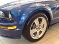 2007 Vista Blue Metallic Ford Mustang GT Premium Convertible  photo #8