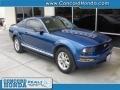 2007 Vista Blue Metallic Ford Mustang V6 Premium Coupe  photo #1