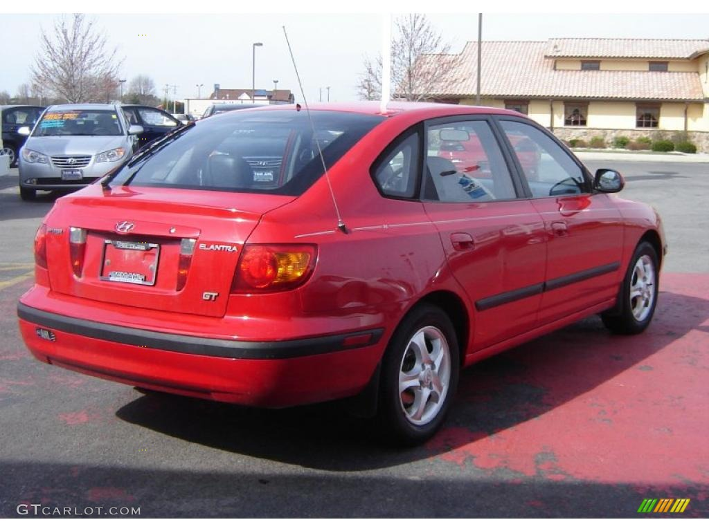 2002 rally red hyundai elantra gt hatchback 27993168 photo 5 gtcarlot com car color galleries gtcarlot com