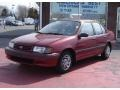 Medium Red Pearl Metallic 1992 Toyota Tercel DX Sedan