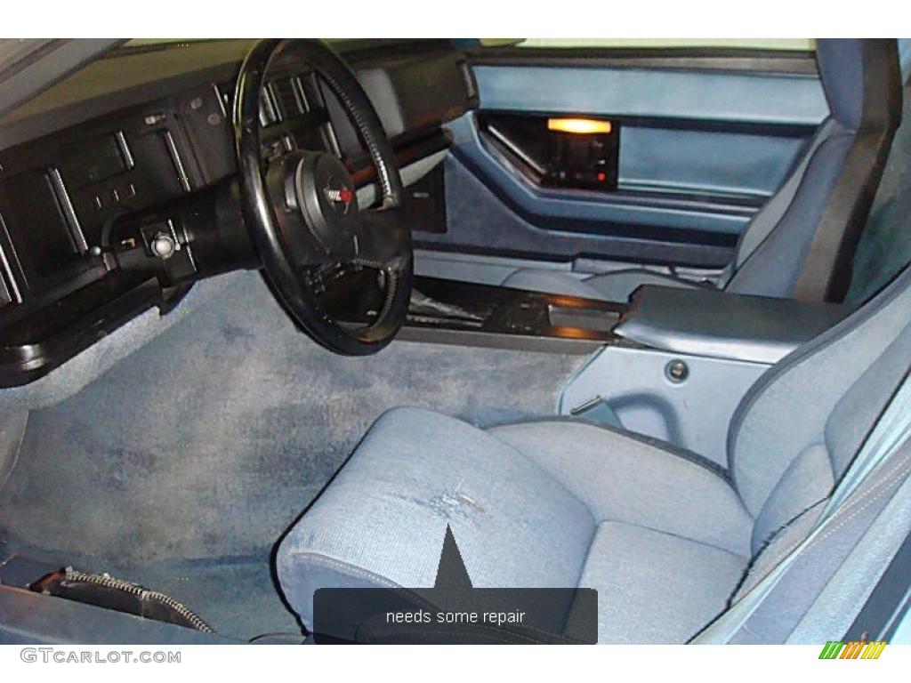 1984 Light Blue Metallic Chevrolet Corvette Coupe 27993741 Photo 9 Car Color