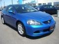 2006 Vivid Blue Pearl Acura RSX Sports Coupe  photo #9