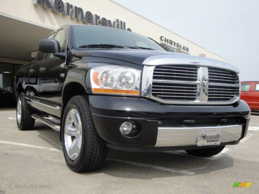 Brilliant Black Crystal Pearl Dodge Ram 1500