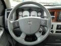 2006 Brilliant Black Crystal Pearl Dodge Ram 1500 Laramie Quad Cab 4x4  photo #25