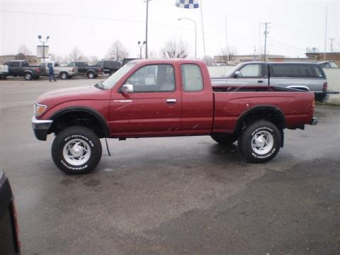 1996 toyota tacoma sr5 extended cab 4x4 data info and. Black Bedroom Furniture Sets. Home Design Ideas
