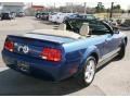 2007 Vista Blue Metallic Ford Mustang V6 Premium Convertible  photo #8