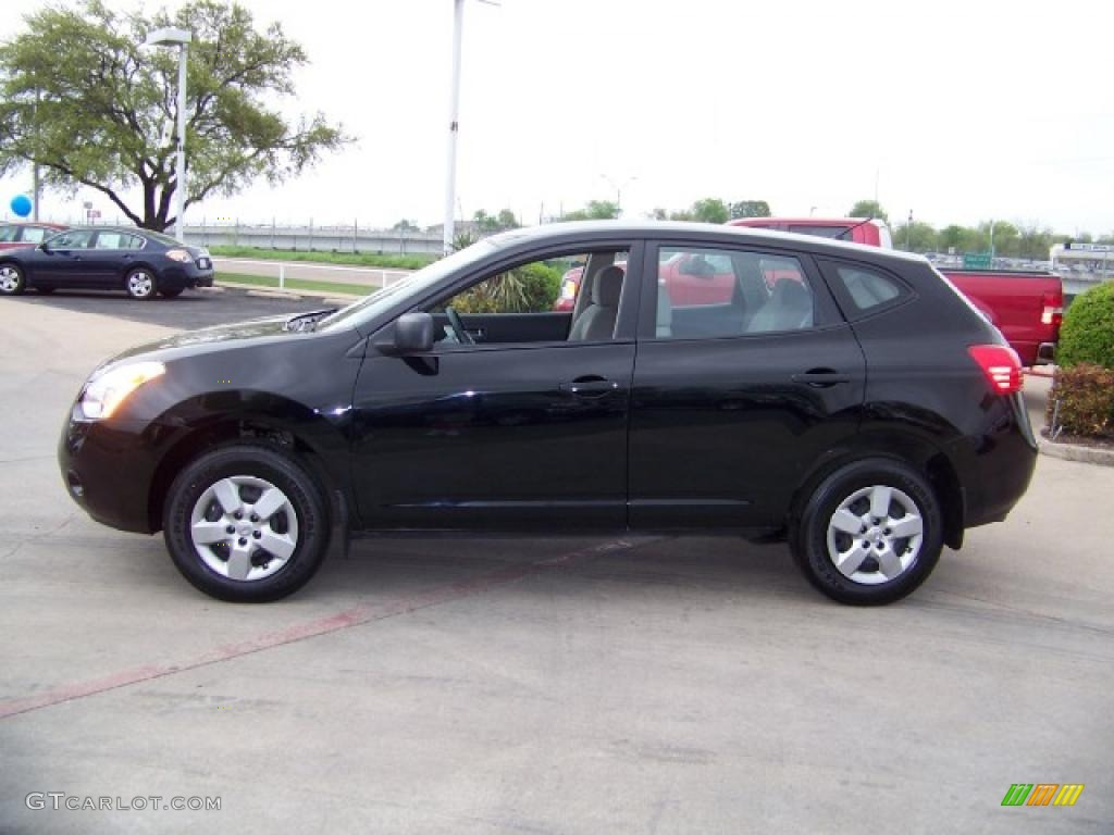 2009 Wicked Black Nissan Rogue S 28092069 Gtcarlot Com