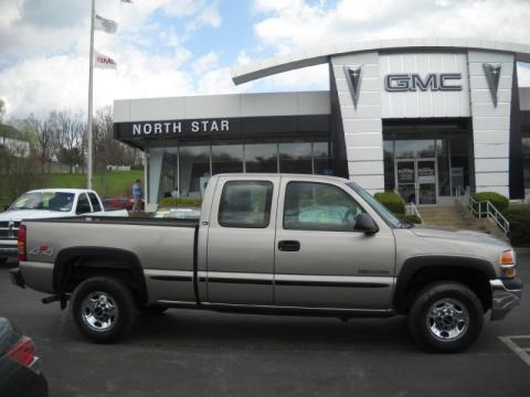2002 gmc sierra 2500hd sl extended cab 4x4 data info and specs. Black Bedroom Furniture Sets. Home Design Ideas