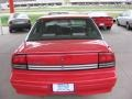 Bright Red - Cutlass Supreme SL Sedan Photo No. 3