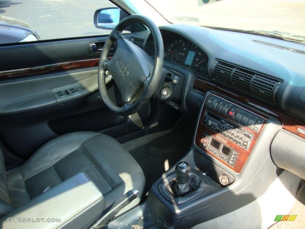 1997 Europa Blue Mica Audi A4 2 8 Quattro Sedan 28092422